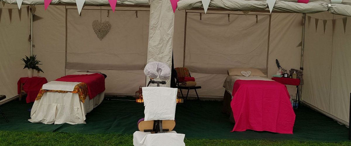 Massage tents