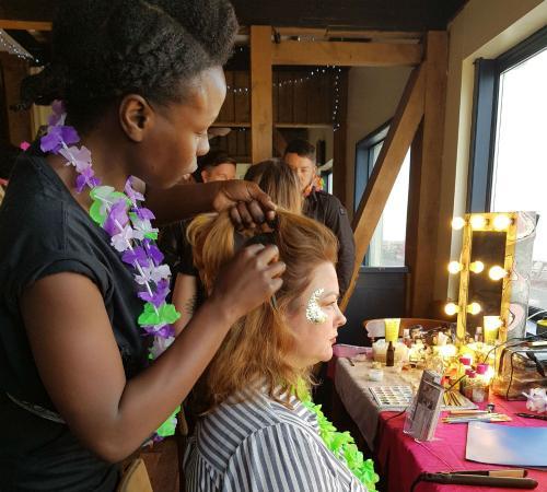 Festival hair & make up